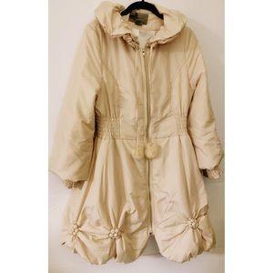 Ryu Scalloped Puffer Coat